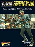 Warlord Games - Finnish Infantry Boxed Set (9 Man), 28mm Bolt Action Wargaming