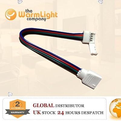 TWLC 4-Pin-Stecker für PCB zu 5050 RGB LED-Streifen von The Warm Light Company auf Lampenhans.de
