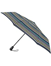 totes Auto Open/Close Xtra Strong Renovate Stripe Print Umbrella (3 Section)