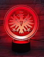 Eintracht Frankfurt LED Lampe Logo