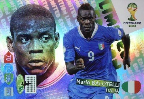 FIFA World Cup 2014 Brazil Adrenalyn XL Mario Balotelli Limited Edition
