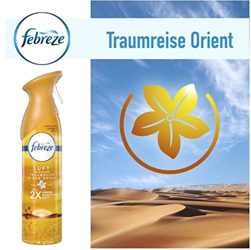 Preisvergleich Produktbild Febreze Lufterfrischer Raumduft Raumspray Duftspray Traumreise Orient 300ml