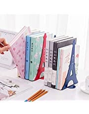 shreenath craft (pack of 1) bookends metal adjustable decorative book rack book stand spring for kids office heavy book holder multi design color at low price set of 1 retractable desk shelf flexible nonskid unicorn for magazine file book organize iron (simple bookends,design and color may vary)