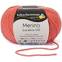 Schachenmayr Smiles 9807564 - Lana para tejer, 100 m, lana, coral, 10  x  10  x  7 cm