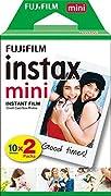 Le film '' instax mini '' convient à tous les appareils Instax Mini. Il offre d'impressionnantes images instantanées que vous pouvez emporter dans votre sac à main, votre portefeuille ou dans un mini cadre photo. Le film Instax assure une rep...