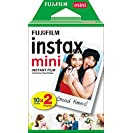 Instax Fujifilm Mini Sofortiger Film, Weiß, 2 x 10 Blatt