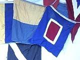8 Flaggen eines Flaggenalphabetes