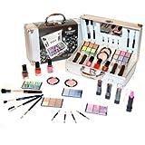 Kosmetik Make-up Schminke ALU-Koffer gefüllt 41 teilige Schminkkoffer(b291)