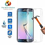 Samsung S6 Edge Pluse Front And Back Hammer Proof Glass Armor Screen Protector Impossible Protection Nano Tech/ Temper Proof / Shutter Proof /Thin 0.26mm Uncatchable / Unbreakable / X10 HD Transparency / Flexible Screen protector made with Anti Shattered Film (High Silicone Coated)