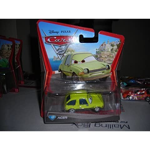 DISNEY PIXAR CARS 2 ACER THE PACER #12 DIECAST VHTF NEW 1:55 SCALE MATTEL 2011 by Mattel