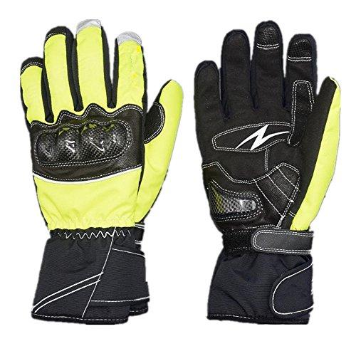 Xuanbao Arbeitshandschuhe Wasserdichte Outdoor Sports Touchscreen Motorrad Handschuhe für Rennrad, Mountainbiking, Racing Schnittfester Schutz (Größe : XXL)