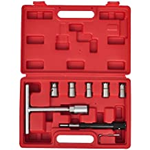 7 Piezas Set de escariador para asiento de inyector Set de cortador f241fbddb9b