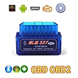 #3: Super Mini Elm327 V1.5 Bluetooth Obd2 Obd-ii Car Auto Diagnostic Scanner Android