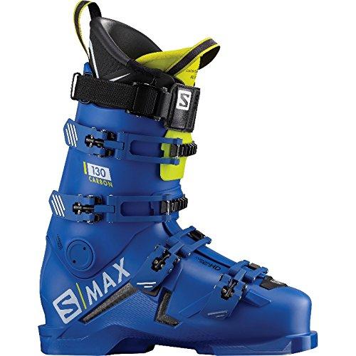 Salomon S/Max 130 Carbon Skischuhe (raceblue/acidgreen), MP 28.0/28.5
