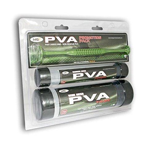 NGT PVA Set 2 Tube + Plunger Komplett, transparent, M