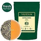 Tè bianco imperiale dell'Himalaya in foglie – Il tè più sano al mondo, ricco di POTENTI ANTIOSSIDANTI, raccolto fresco a mano nel da piantagioni di alta quota, floreale e invitante, (25 Tazze), 50g