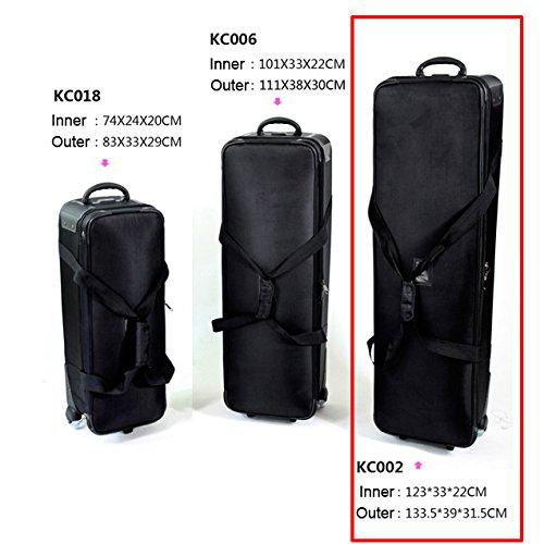 HWAMART ® KC002 Tasche Pad-Videokamera -Tasche Stativ-Tragetasche Hohe Qualität tragen und Schwungräder Fall Flightcase Schützen