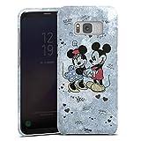 Samsung Galaxy S8 Hülle Premium Case Cover Disney Minnie & Mickey Mouse Merchandise Geschenke