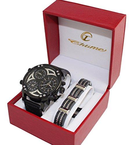 cofanetto-regalo-da-uomo-con-orologio-con-quadrante-grande-only-the-brave-tre-sottoquadranti-e-grume