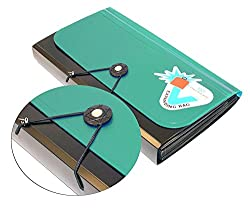 Product Type : Cheque Book Holder Product Material : Plastic Product Dimension : 26cm x 15cm x 3cm You Can Keep Your Cheque Books, Pass Books And Passport and many more important Documents. It Has 13 Small Pockets In Which You Can Keep All Your Card ...