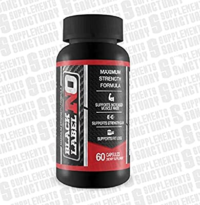 Black Label Nitric Oxide from Supplements Sanctuary