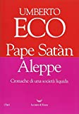 51mSLD%2B-L7L._SL160_ Recensione di Pape Satàn Aleppe di Umberto Eco Recensioni libri
