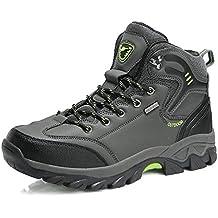 WOWEI Scarpe da Escursionismo Arrampicata Sportive All aperto Impermeabili  Traspiranti Trekking Sneakers da Donna Uomo 13bd27bfb3e