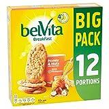 Belvita Breakfast Honey & Nuts Biscuits X 12 Pack 600G
