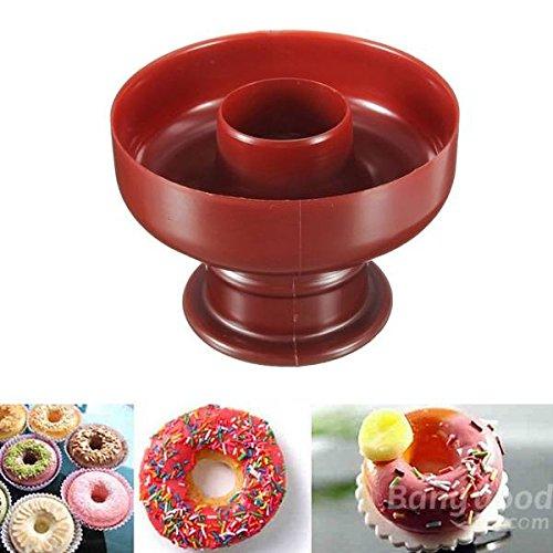 Bazaar DIY Donut Maker Scherblock Form Fondant Kuchen Brot Desserts Backformwerkzeug