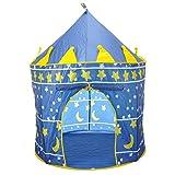 Castello bambini per giocattoli, Lemonda tenda bambini per gioco, giocattoli, regalo, ecc, adatto all'uso interno ed esterno, tenda bambini gioco a tema di castello (Principe)