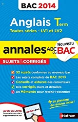 ANNALES BAC 2014 ANGLAIS TERM