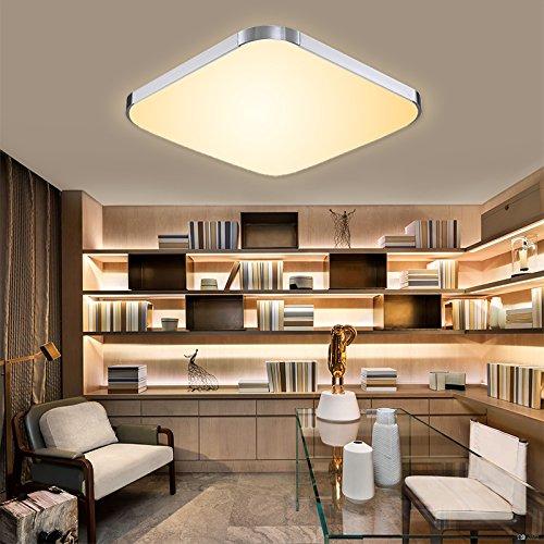 Hengda® LED kaltweiß LED Deckenleuchte Deckenlampe Decke Lampe des Rückzugs Küche Schlafzimmer Lampe Wohnzimmer der Energie Einsparung Wand-Licht