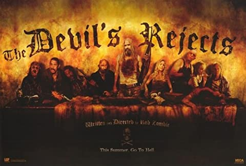 The Devil's Rejects Plakat Movie Poster (27 x 40 Inches - 69cm x 102cm) (2005) B (2005 Plakat)