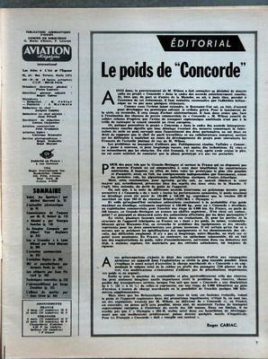 AVIATION MAGAZINE N? 413 du 15-02-1965 SOMMAIRE - SALUT LES SPOTTERS PAR MICHEL MARRAND - L???ACTUALITE AERONAUTIQUE - CONNAISSANCE DE L???ESPACE PAR MH BOISOT - GEMINI PAR GEORGES SOURINE - LA DOUGLAS COMPANY PAR ALBERT VAN BUYLAERE - LES CRUSADER A LANN BIHOUE PAR RENE MEYSAN - L???AVIATION COMMERCIALE - L???AVIATION LEGERE - SKI ET PARACHUTISME PAR JACQUES RODE - LES ALTIPORTS PAR JEAN PERARD - TECHNIQUES NOUVELLES - L???AEROMODELISME PAR SERGE ZWAHLEN - L???ALBUM DU SPOTTER PAR JEAN LIRON... par Collectif