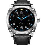 HRTJJT orologio Seiko orologio meccanico in Acciaio Con Zaffiro 50M orologio impermeabile orologio da polso maschile Militare, TRE