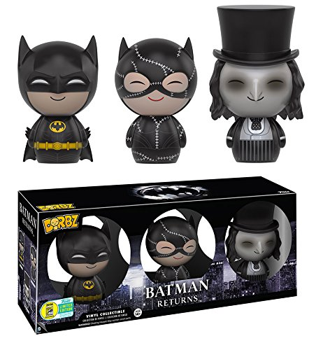 Funko - Figurine Batman - 3-Pack Batman Catwoman Penguin Exclu Dorbz 8
