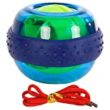 Spaceball Fingertrainer Ball Unterarmtrainer Handgelenktrainer, WristBall Power Arm Twister, Ø 7,5cm, Inklusive Übungsanleitung