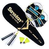 Senston Carbon Badminton Schläger Set