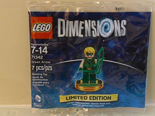 Lego - Dimenstions - Green Arrow - Exklusiver Polybag von der San Diego Comic Con 2016 - SDCC 2016 - Limitert und sehr selten