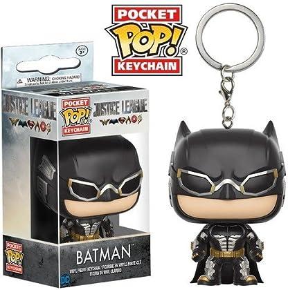 DC Llavero de Vinilo Batman, colección Justice ...