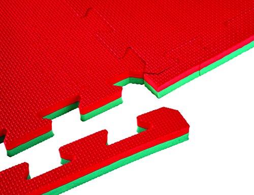 Bruce Lee Karatematte Karate Aerobic Matte Sportboden Kampfsport 100 x 100x2 cm