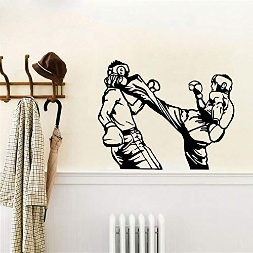 63CM * 50CM Los guantes de boxeo más frescos Sala de estar El dormitorio PVC Pegatinas de pared Cocina y gimnasio