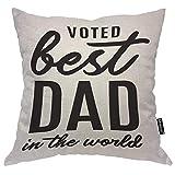 odin sky Heureux père cite oreillers Papa dans Le Monde Barbe Mot Jeter Couverture...