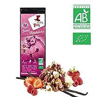 Infusion fraise framboise vanille bio - Sachet 100g vrac - ? Certifié Agriculture biologique ?