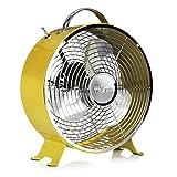 Ventilateur de table rétro Tristar VE-5964 – 25,40 cm – Jaune