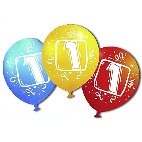 "Amscan 450067–6Luftballons Latex Zahl–70cm/8"""
