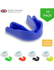 Game Guard - Protector bucal deportivo (10 unidades), colores variados Talla:infantil