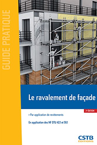 Le ravalement de façade: Par application de revêtements - En application des NF DTU 42.1 et 59.1
