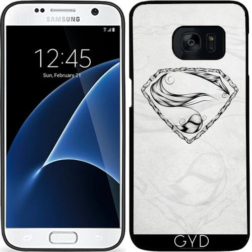 Custodia in silicone per Samsung Galaxy S7 (SM-G930) - super-piuma by LouJah