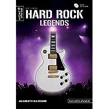 Hard Rock Legends: Die größten Gitarrenlegenden (inkl. Audio-CD). Lehrbuch für E-Gitarre. Playalongs. Songbook. Musiknoten.